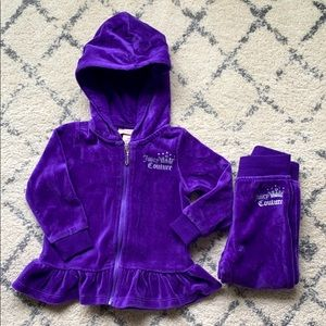 Juicy couture set 12 months
